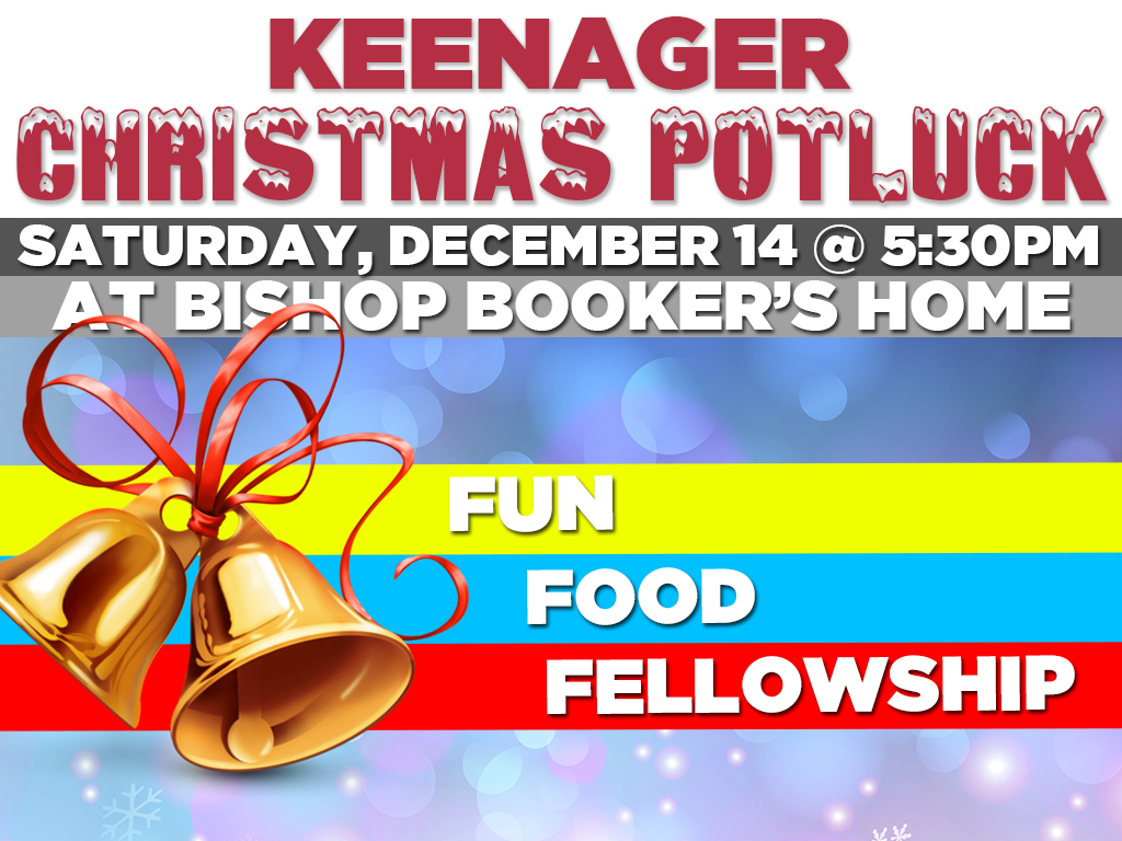 Keenagers Christmas Party   December 14, 2019