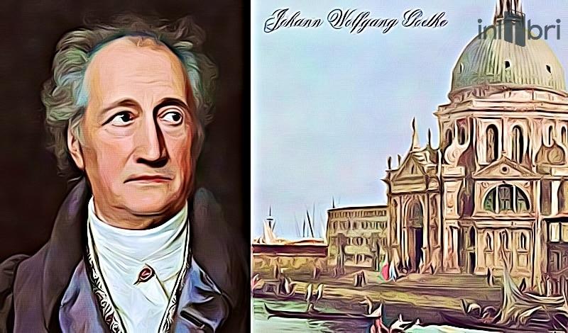Ilustracia recenzie na knihu Cesta do Talianska od J.W: Goethe