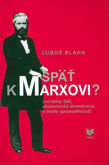 Obálka knihy Späť k Marxkovi? od autora: Ľuboš Blaha