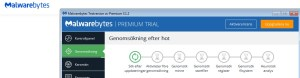 Malware koll från Malwarebytes