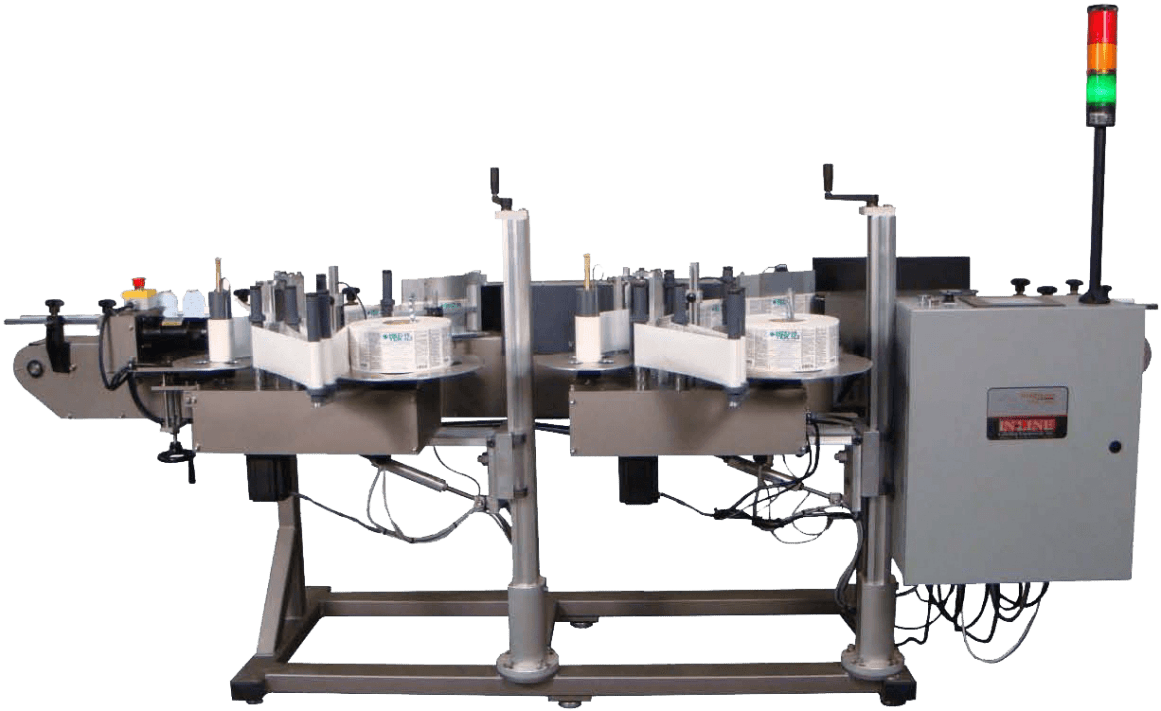 In-Line Packaging Systems Labeling, Filling, Bottling, Food Packaging machinery