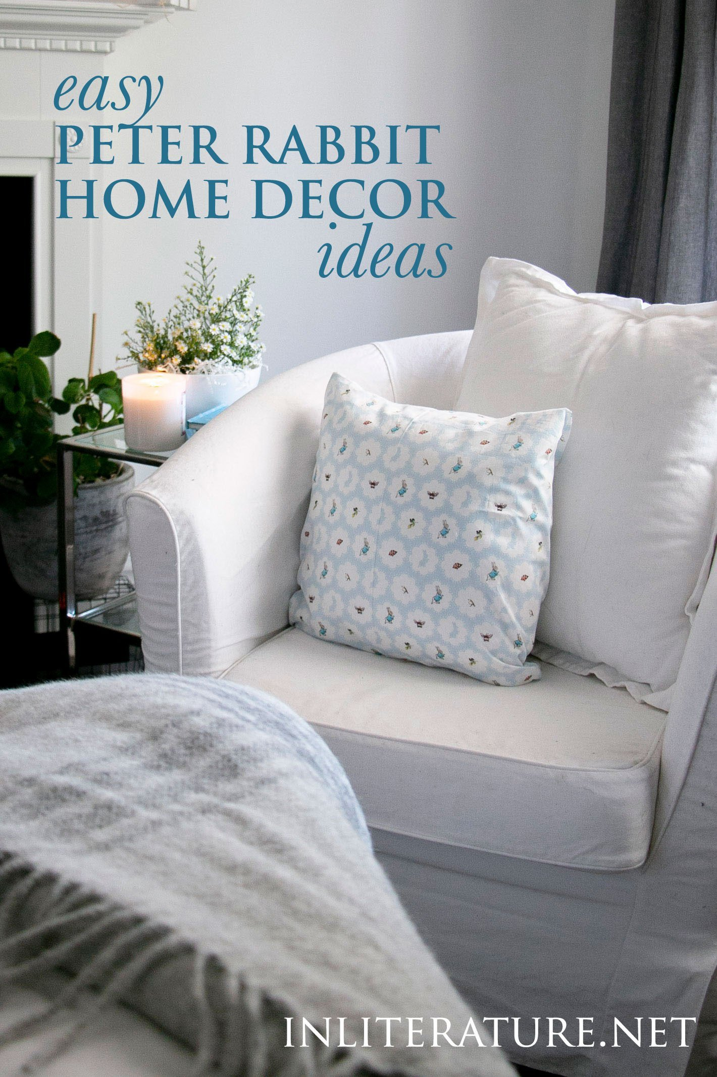 Easy Peter Rabbit Inspired Home Decor Ideas In Literature