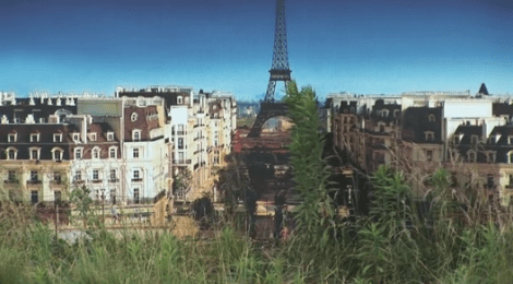 Chinese- parisian ghost town: architectural copy-cats