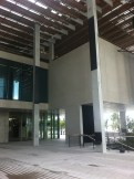 Notice the black steel reinforcement on the columns.