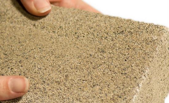 bioMason bacteria-grown brick