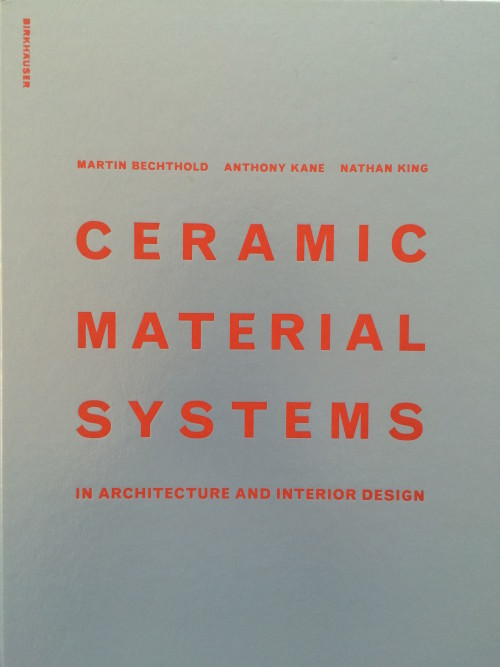 Ceramic Material Systems in Architecture and Interior Design Book Cover