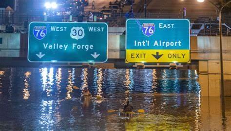 Subió el nivel del agua en New York