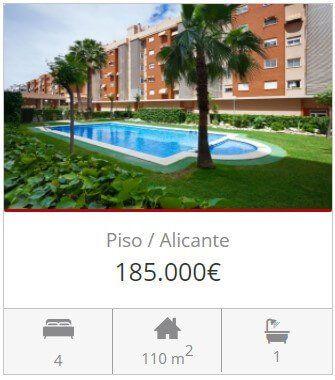Inmobiliaria Alicante piso venta garbinet