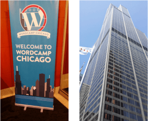 wordcamp-chicago-banner-and-tower