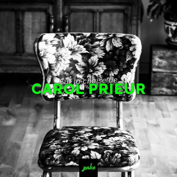 SUR LA CHAISE DE! CAROL Portrait chorégraphique de Carol Prieur