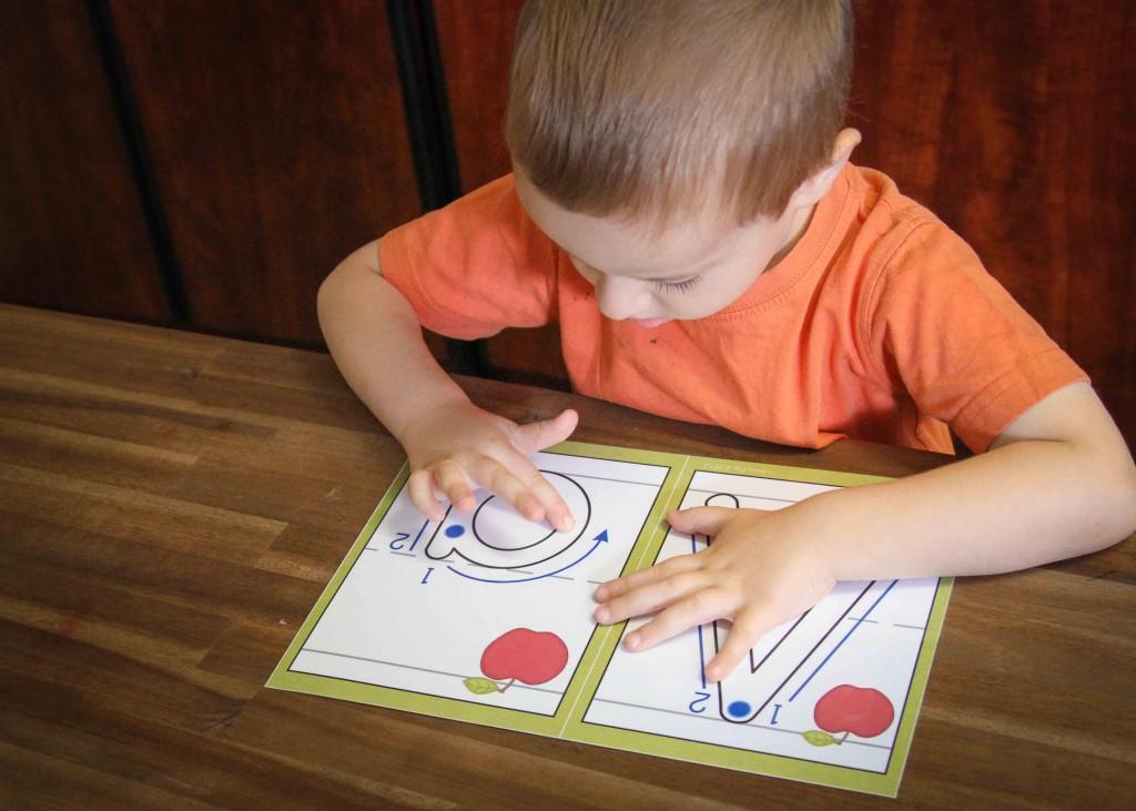 Preschool Letter A In My World