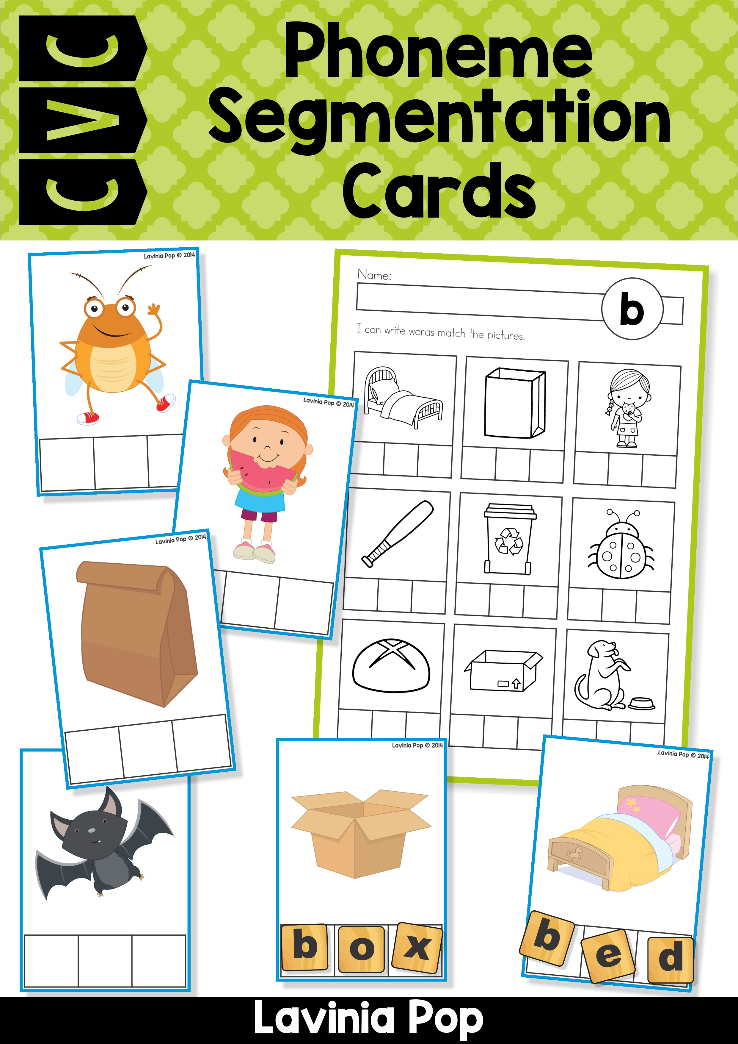 Phoneme Segmentation Cards1