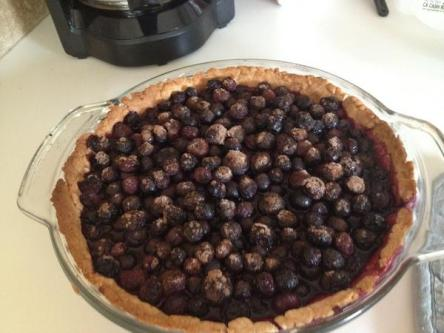 Serena's Blueberry Tart