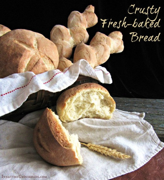 Easy Crusty Fresh Bread Recipe