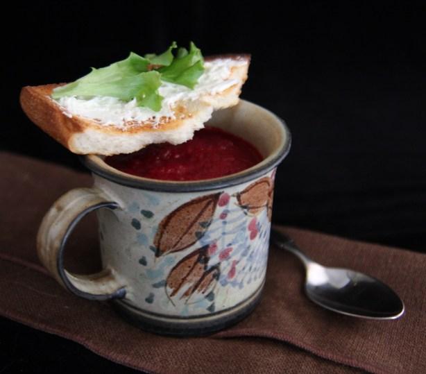 Modern Beet Soup