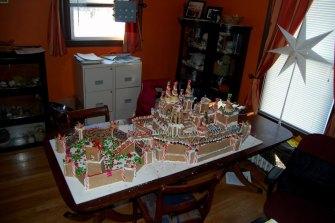 Aaron & Ethan's Gingerbread Winterfell