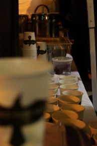 mulled cider lineup at Take the Black