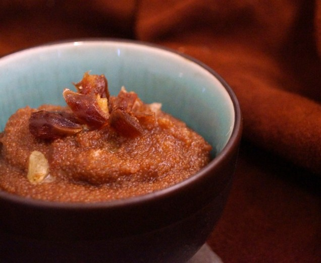 Teff Porridge with Dates