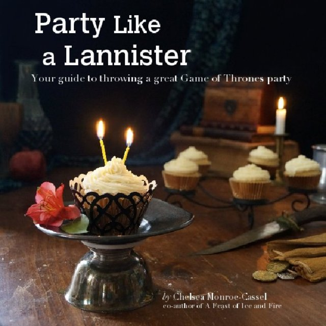 Game of Thrones Party Planning Ebook cover