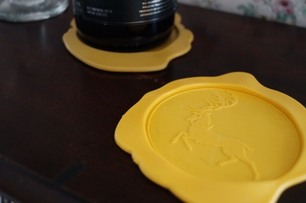 wax seal coasters