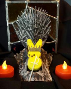 In the Game of Peeps, you win or you die, by Jodi
