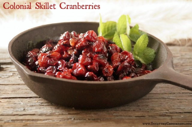 colonial skillet cranberries