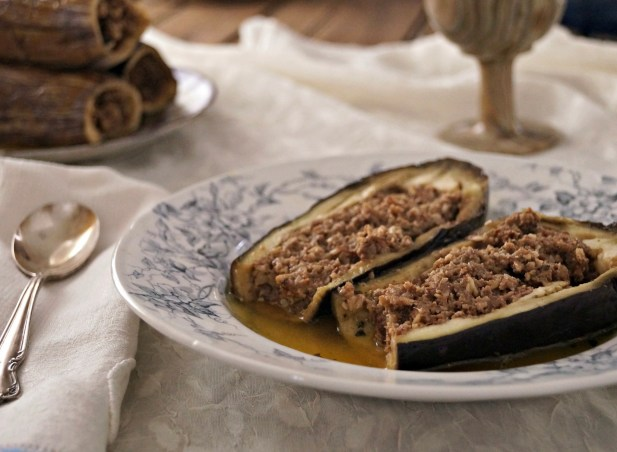 stuffed Aubergines