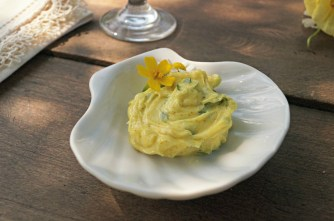Turmeric-Parsley Butter