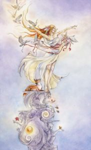 The Fool from The Shadowscapes Tarot by Stephanie Pui-Mun Law