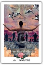 Awakening from The Gaian Tarot by Joanna Powell Colbert