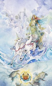 The Chariot from The Shadowscapes Tarot