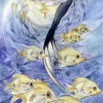 9 of Cups from The Shadowscapes Tarot by Stephanie Pui-Mun Law