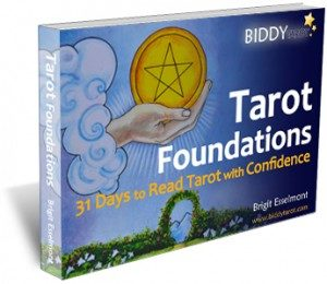 Tarot Foundations cover by Brigit Esselmont