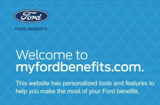 My FORD Benefits