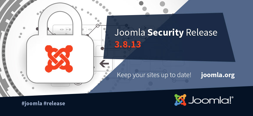 Joomla! 3.8.13