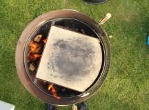 Kettlepizza fra oven