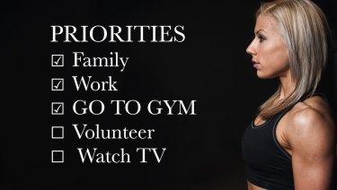 Prioritize Fitness