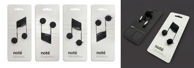Audífonos  Note - envase innovador