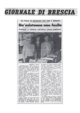 Un'esistenza non facile - Giornale di Brescia