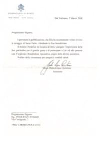 Lettera del Vaticano