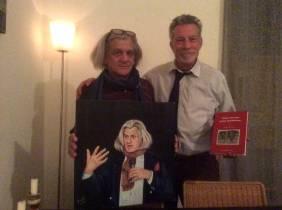 Inconto con il Pittore Farrugia autore del ritratto di Innocente Foglio