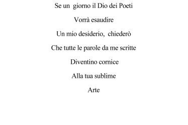 A Te Poesia di Innocente Foglio