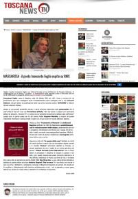 Innocente Foglio su ToscanaNews