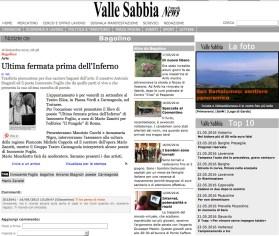 Valle Sabbia News - Ultima fermata prima dell'Inferno