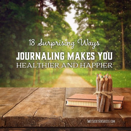 journaling benefits for heathier body and happier mind