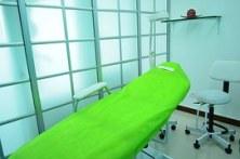 behandelkamer wit groen