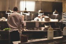 kitchen aan het werk