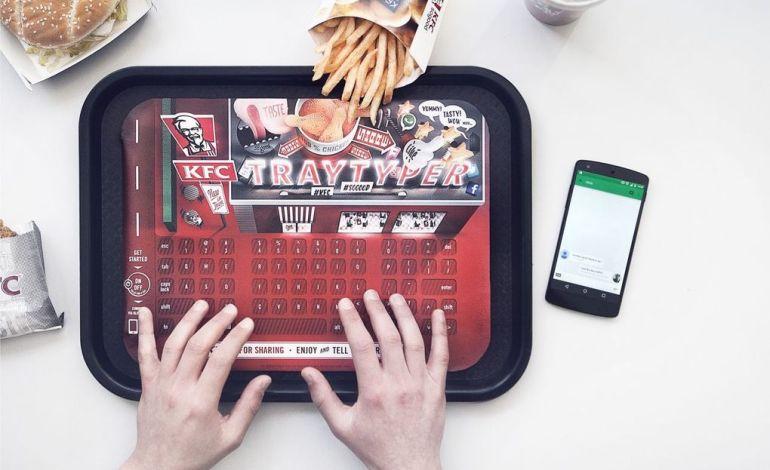 Tray Typer: клавиатура от KFC