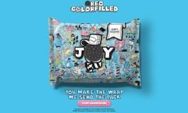 Oreo дает возможность создать новогоднюю упаковку для печенья