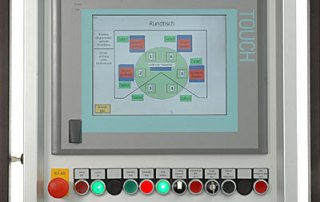 Operating Panel mit Touchscreen